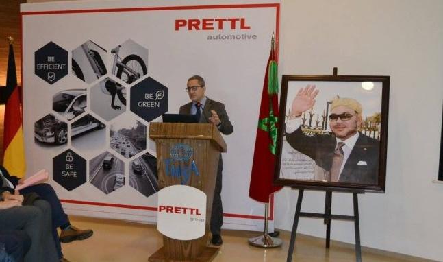 Le groupe allemand, Prettl Automotive, inaugure une nouvelle usine à Tanger