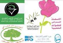 Premier communiqué commun de l'USFP, PPS, FFD, PS et Gauche Verte : La gauche déterminée à conjuguer ses efforts pour un Maroc digne de la confiance des Marocains
