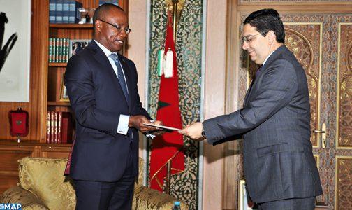 Nasser Bourita reçoit l'émissaire du Président mozambicain