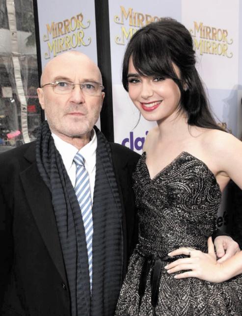 Stars de la même famille : Phil et Lily Collins