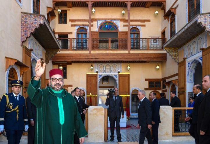 S.M le Roi s'enquiert des projets de réhabilitation de l'ancienne médina de Fès