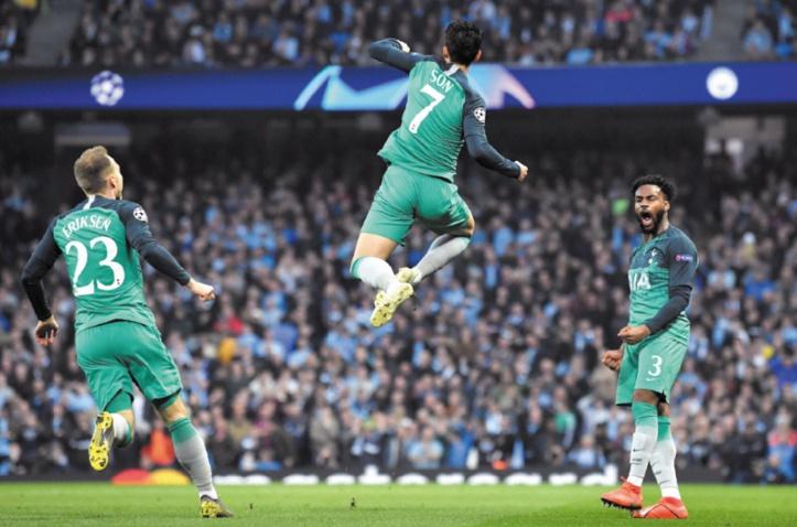 Tottenham élimine City dans un match d'anthologie