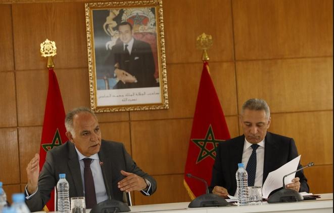 Moulay Hafid Elalamy se concerte avec la CGEM