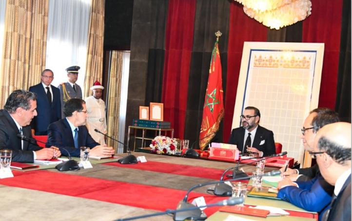 S.M le Roi préside une séance de travail consacrée à la problématique de l'eau
