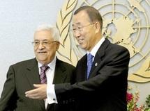 Les Palestiniens de Cisjordanie manifestent pour l'admission de leur Etat à l'ONU