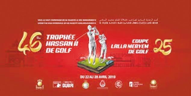Coup d'envoi de la 46ème édition du Trophée Hassan II et de la 25ème Coupe Lalla Meryem de golf