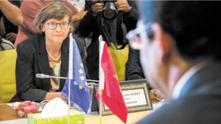 Claudia WIEDEY, ambassadeur de la Délégation de l'Union européenne au Maroc.