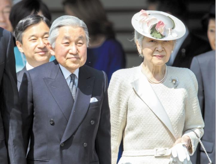 Akihito et Michiko Révolution douce au Palais impérial du Japon