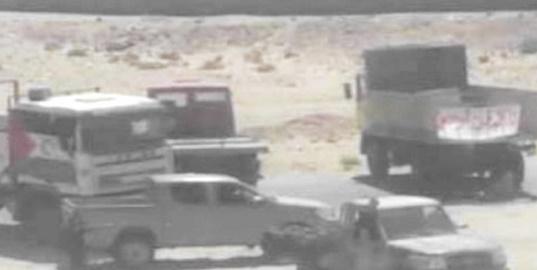 Le Polisario envoie ses blindés contre les manifestants des camps de Tindouf