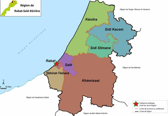 Lancement du projet de gestion intégrée des zones côtières dans la région Rabat-Salé-Kénitra