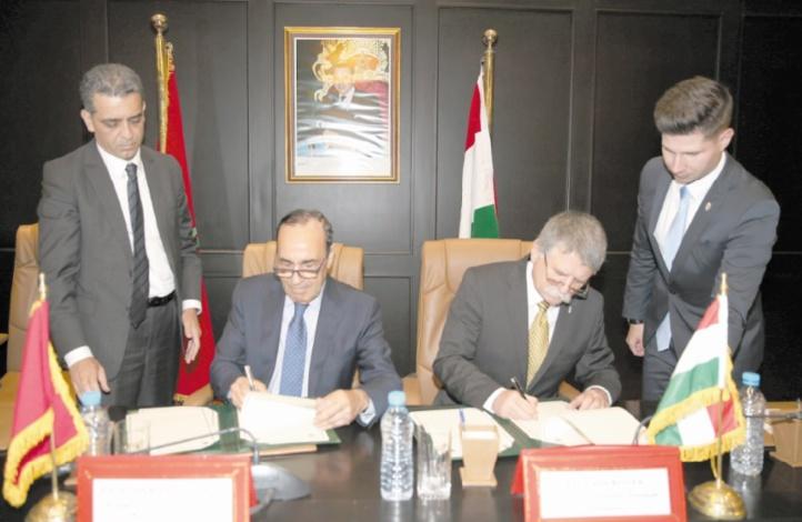 Habib El Malki s'entretient avec Laszlo Kover