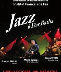 Pour un concert métissé inédit à Dar Batha : François Raulin, Adama Dramé et Majid Bekass sur scène à Fès