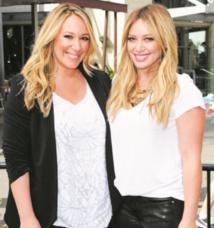 Stars de la même famille :  Hilary et Haylie Duff