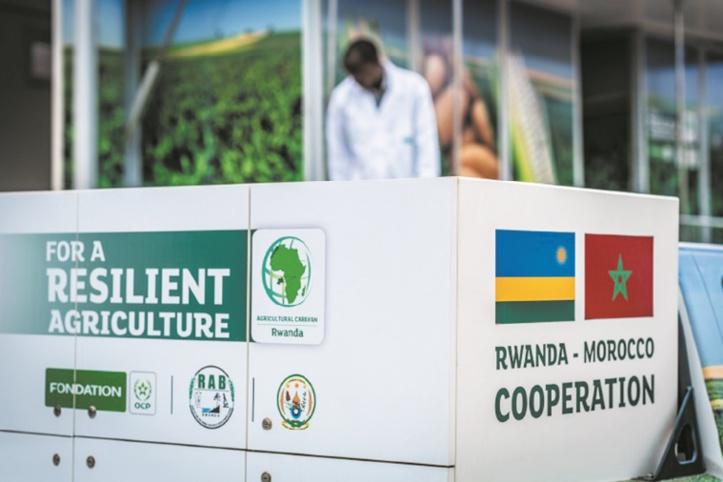 La Caravane agricole de l'OCP met le cap sur le Rwanda