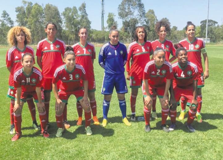 Match amical Carton de l'EN féminine