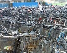 Le vélo à la chinoise