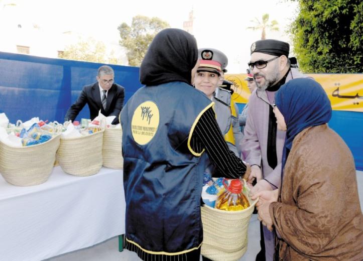 S.M le Roi lance l'opération nationale de soutien alimentaire