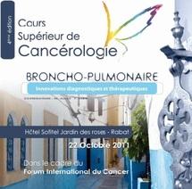 Un cours supérieur de cancérologie broncho-pulmonaire samedi à Rabat : Le cancer du poumon tue de plus en plus au Maroc