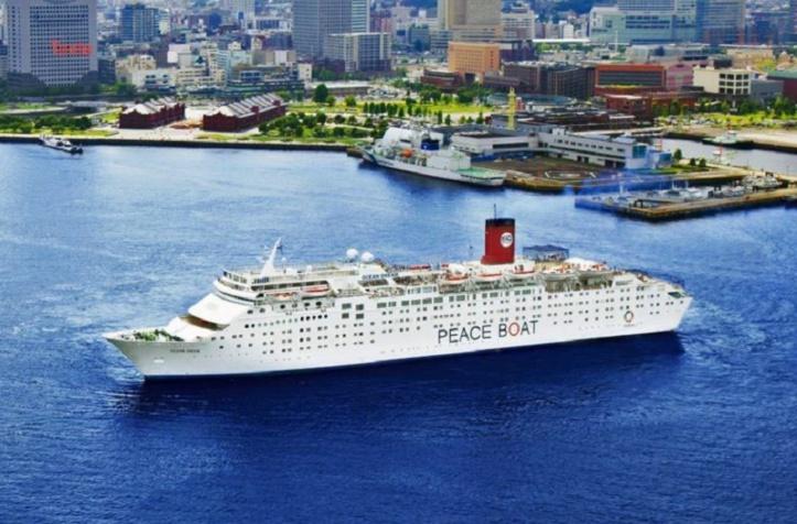 L'Ocean Dream, le bateau pour la paix qui fait escale à Tanger