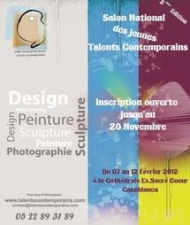 Salon national des jeunes talents contemporains : Design, sculpture, peinture et photographie à l'honneur à Casablanca