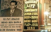 46ème anniversaire de la disparition de Mehdi Ben Barka : Rassemblement devant la Brasserie Lipp à Paris