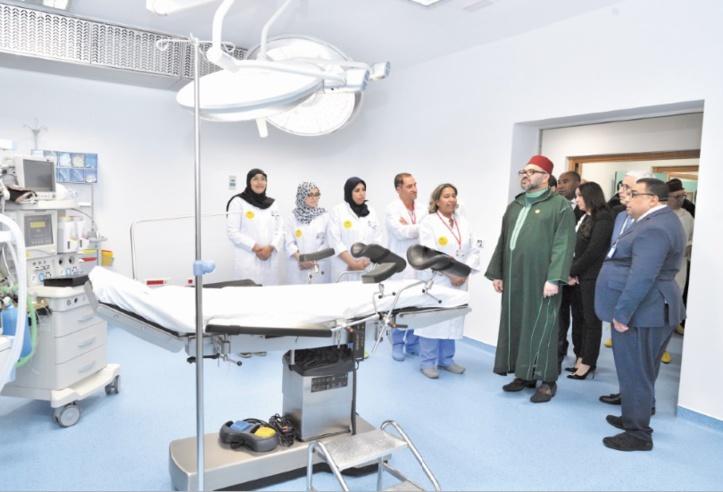 S.M le Roi inaugure un Centre médical de proximité à l'arrondissement de Sidi Moumen