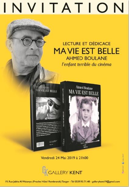 Ahmed Boulane présente son premier livre à Tanger