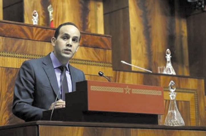 Chokrane Amam, président du Groupe  socialiste à la Chambre des représentants.