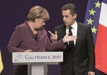 Projet de référendum en Grèce : Sarkozy et Merkel lancent un ultimatum à Papandreou