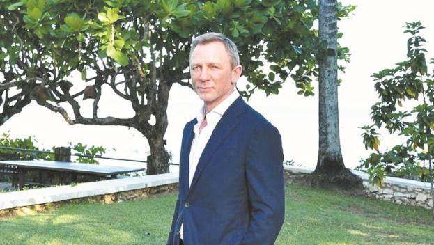 Daniel Craig blessé sur le plateau du nouveau Bond