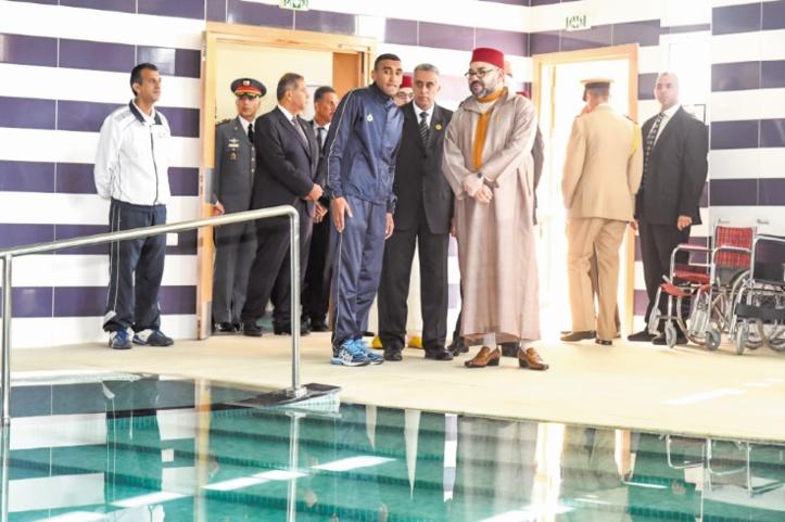 S.M le Roi inaugure la section régionale du Centre national Mohammed VI des personnes en situation de handicap