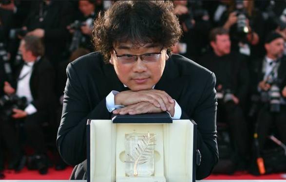 """""""Parasite"""" du Sud-Coréen Bong Joon-ho remporte la Palme d'or à Cannes"""