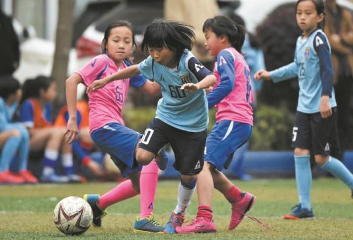 En Chine, les footballeuses ont de quoi faire rougir les garçons