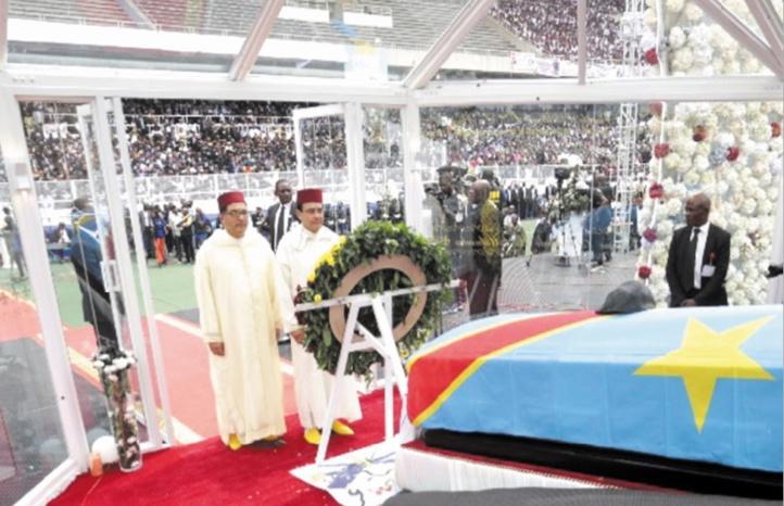 S.M le Roi représenté par Abdelkrim Benatiq aux obsèques d'Etienne Tshisekedi