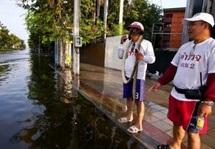 En Thaïlande inondée, Sompop le chasseur de serpents submergé d'appels