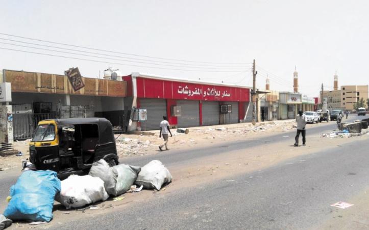 Khartoum toujours au ralenti au 3ème jour de désobéissance civile