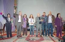 """Meeting populaire de l'USFP à Agadir : Aïcha Lakhmas : """"Notre vie politique est faite de militantisme permanent"""" Fathallah Oualalou : """"On ne doit pas laisser le champ libre aux corrupteurs"""" Tariq Kabbage : """"Les citoyens sont invités à voter massiveme"""