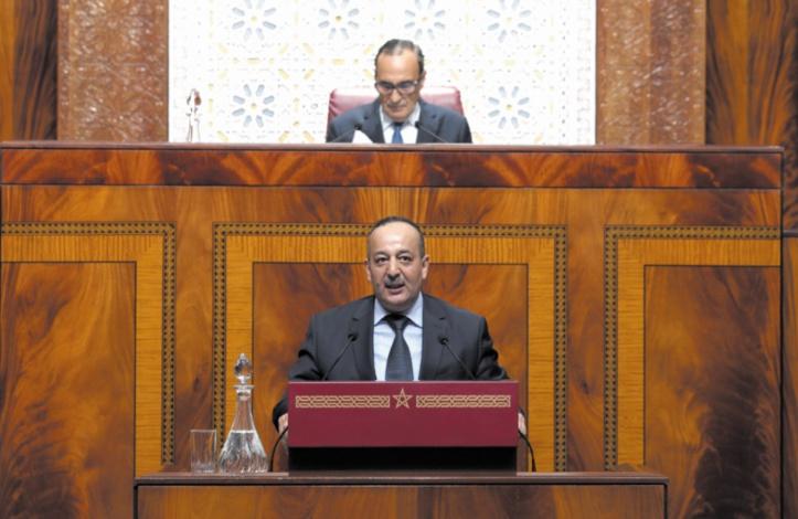 Habib El Malki salue les efforts de la Chambre des représentants et du gouvernement pour parachever l'adoption des lois organiques de la Constitution de 2011