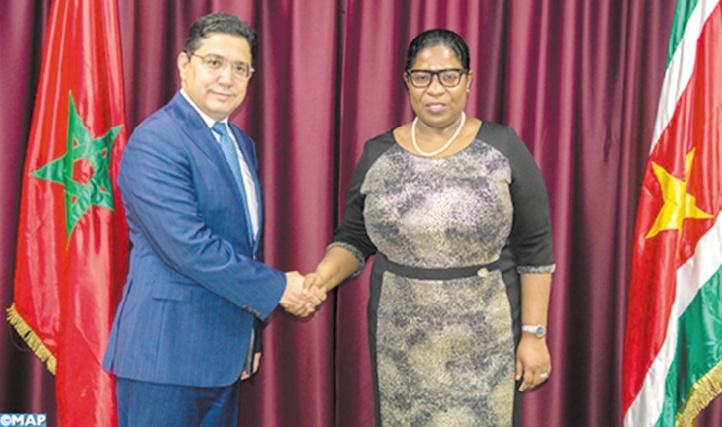 Le Suriname réitère sa décision de retrait de la reconnaissance de la fantomatique RASD