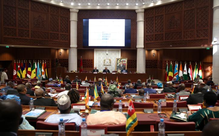 La session de l'Assemblée parlementaire région Afrique couronnée de succès