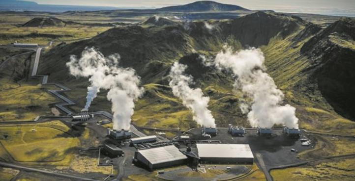 En Islande, le CO2 changé en roche pour nettoyer l'atmosphère