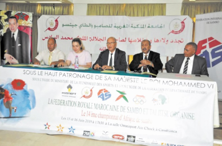 Le Maroc domine le Championnat d'Afrique de sambo et taïjitsu