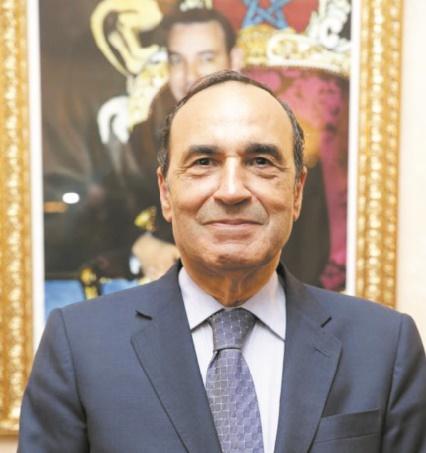 Habib El Malki en visite à Dublin
