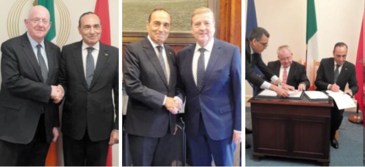 A l'initiative de la Chambre des représentants, la coopération parlementaire maroco-irlandaise s'organise dans le cadre d'un Mémorandum d'entente