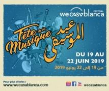 """Clôture en apothéose de la fête de la musique """"by Wecasablanca Festival"""""""