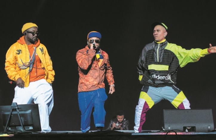 Peas font vibrer l'OLM-Souissi : Les légendaires Black Eyed