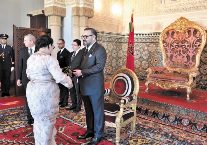 S.M le Roi nomme de nouveaux ambassadeurs et reçoit des ambassadeurs étrangers venus prendre congé du Souverain