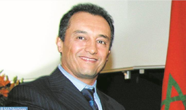 Le président du CESE,  Ahmed Réda Chami.