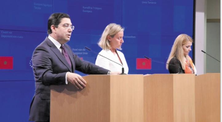 Nasser Bourita : Les relations du Maroc avec l'UE sont guidées par une vision Royale claire pour un partenariat ambitieux, global et d'égal à égal