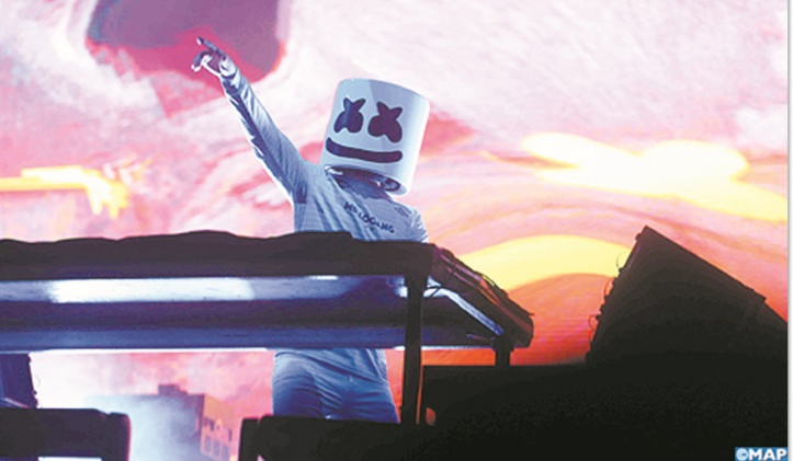 DJ Marshmello, le génie masqué !